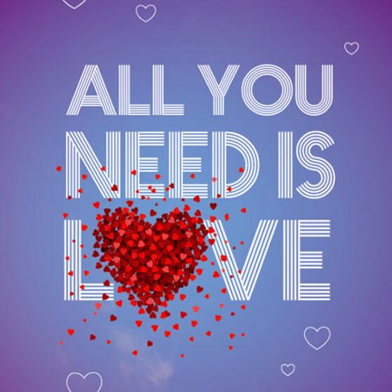 All you need ir love 2015